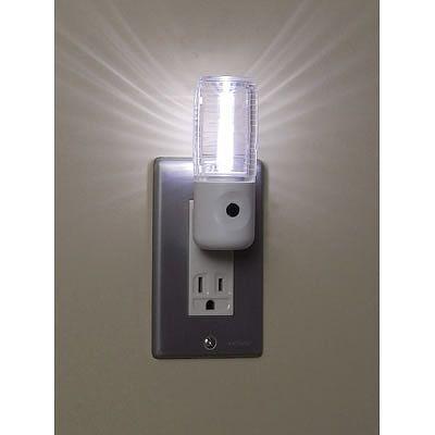 YAZAWA(ヤザワ) センサーナイトライト 高輝度白色LED×1灯 2個パック NL30WH2P