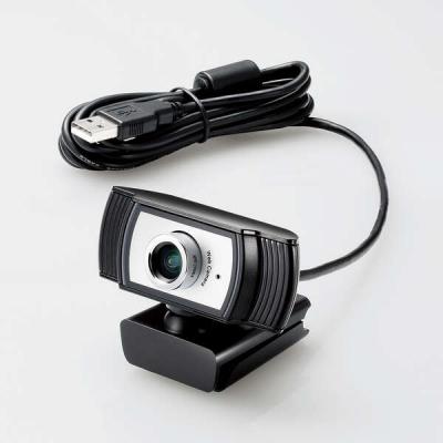 ELECOM(エレコム) Full HD対応Webカメラ WEBCAM-102BK
