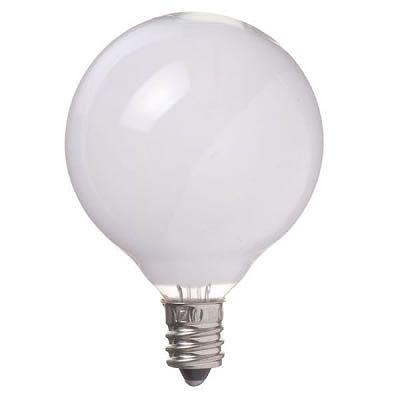 YAZAWA(ヤザワ) ベビーボール球 G50 E12 10W ホワイト G501210W