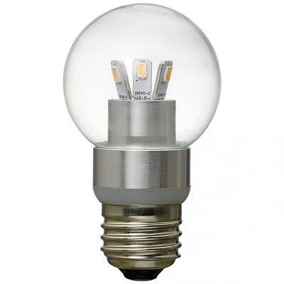 YAZAWA(ヤザワ) G50ボール形LED電球3W電球色 LDG3LG50