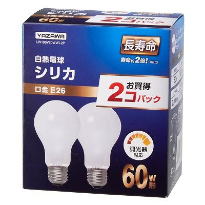 YAZAWA(ヤザワ)  LW100V60WWL2P