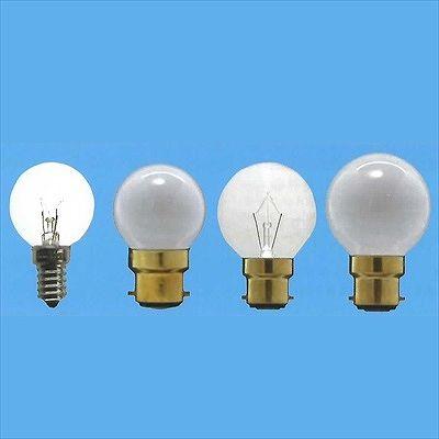 アサヒ 【まとめ買い25個セット】ボール球(海外球) G40 105V40W ホワイト E14 G40E14100/110V-40W(S)-25SET