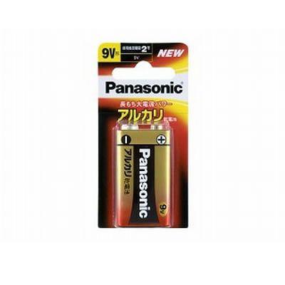 パナソニック アルカリ乾電池 9V形 1個入×10パックセット 6LR61XJ1B-10SET