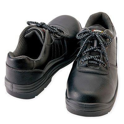 アイトス ★セーフティシューズ(ウレタン短靴ヒモ) ブラック 23.5cm 樹脂先芯 AZ59810-010-23.5
