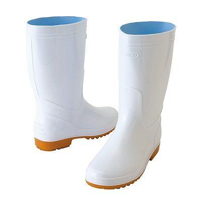 アイトス ★衛生長靴 ホワイト 23.5cm 耐油底 AZ4435-001-23.5