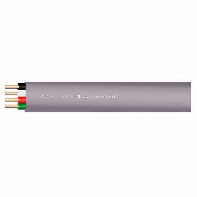 菅波電線  VVF1.6×4C×100m