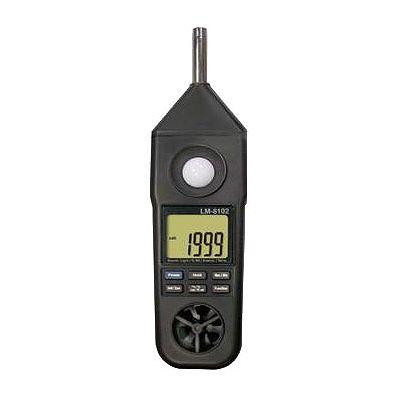 マザーツール マルチ環境測定器 騒音・照度・風速・温度・湿度測定 MAX・MINホールド機能付 LM-8102