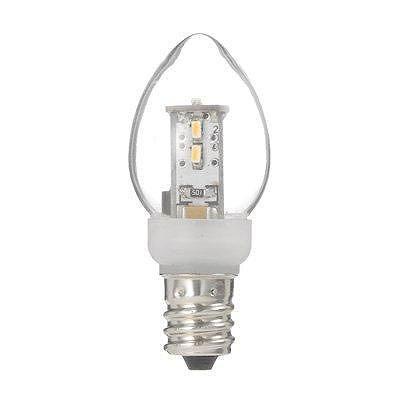 YAZAWA(ヤザワ) ローソク形LEDランプ電球色E12クリア LDC1LG23E12