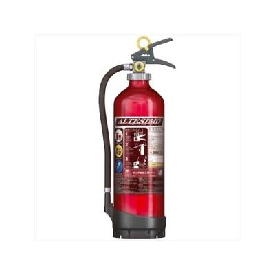 モリタ宮田工業 アルミ製蓄圧式粉末ABC消火器 《アルテシモ》 業務用 総質量約4.6kg リサイクルシール付 MEA10Dリサイクルシールツキ