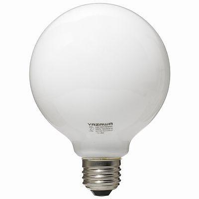 YAZAWA(ヤザワ) ボール電球60W形ホワイト GW100V57W95