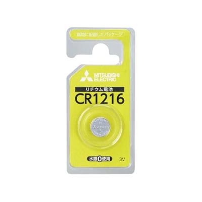 三菱 リチウムコイン電池 3V 1個パック×10セット CR1216D/1BP_10set