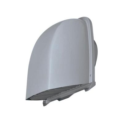 三菱 防火ダンパー付薄壁対応深形フード ダクト用 防虫網・ワイド水切板付 適用パイプ:φ100mm ステンレス製 P-13VSQDM4
