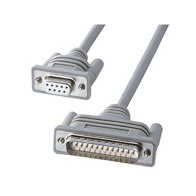 サンワサプライ RS-232Cケーブル モデム-TA用結線 非UL規格 ケーブル長0.75m KRS-3102F-07K2