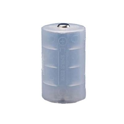 旭電機化成 単3が3個で単1電池アダプター 2個入 ホワイト ADC-311WH