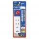 YAZAWA(ヤザワ) 日本でも海外でも使えるUSB1ポート付急速充電タップ VFC24A2AC1U 画像5
