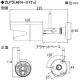 キャロットシステムズ フルHD無線カメラ&10インチモニターセット 高画質200万画素 IP66相当 静電式タッチパネルモニター AFH-101 画像3