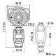 マザーツール 高画質Day&NightAHDカメラ 防水型 200万画素 フルHD録画対応SDレコーダー搭載 MTW-SD02FHD 画像3