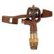 カクダイ 低角度スプリンクラー 全回転タイプ 取付ネジR1/2 ノズル口径2.8mm 548-005-13 画像1