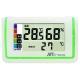 マザーツール 熱中症指数表示付温湿度計 警戒度5段階表示 LEDバックライト・アラーム機能付 MT-875 画像1