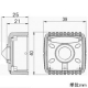 マザーツール フルハイビジョン高画質小型AHDカメラ ピンホールタイプ 800万画質CMOSセンサー搭載 マイク内蔵 MTC-P224AHD 画像2
