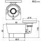 マザーツール フルハイビジョン高画質防水型AHDカメラ 210万画素CMOSセンサー搭載 オートフォーカス電動レンズ搭載モデル 屋外用 MTW-S38AHD 画像2