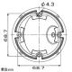 マザーツール フルハイビジョン高画質防水ドーム型AHDカメラ 210万画素CMOSセンサー搭載 オートフォーカス電動レンズ搭載モデル 屋外用 MTD-S01AHD 画像3