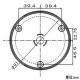 マザーツール ハイビジョン暗視対応AHDドームカメラ DC12V 1/3インチカラーCMOSセンサー ACアダプター付 MTD-S23AHDIR 画像3