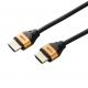 YAZAWA(ヤザワ) HDMIケーブル1m ゴールドヘッド Φ5mm HD410GD