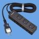 パナソニック ザ・タップFプレミアム 3コ口 2mコード付 ランプレス個別スイッチ付 ダークウッド WHF2323BMDP