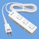 パナソニック ザ・タップFプレミアム 3コ口 2mコード付 ランプレス個別スイッチ付 ホワイトレザー WHF2323WLWP