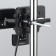 YAZAWA(ヤザワ) LEDセンサーライト ソーラー式 防雨タイプ 調光タイプ 3W白色LED×2灯 リモコン付 SLR3LES2 画像3