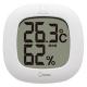 ドリテック デジタル温湿度計 《ルミール》 LED熱中症・インフルエンザ警告付 O-295WT