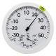 ドリテック 温湿度計 《オプティブ》 アナログ式 回転ベゼル付 電池不要 O-320WT