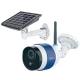 キャロットシステムズ ソーラーバッテリーWi-Fiカメラ スマートフォン専用 防塵・防水タイプ 92万画素 マイク内蔵 録画機能付 AT-740