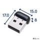 ELECOM 無線LAN子機 11n/g/b 150Mbps USB2.0用 ブラック WDC-150SU2MBK 画像2