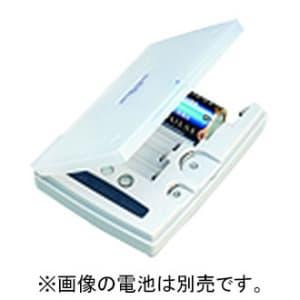東芝 バッテリーチェッカー 単1形~単5形/9V形/リチウムパック/アルカリボタン/コイン形リチウム電池対応