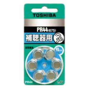 東芝 補聴器用空気電池 公称電圧:1.4V サイズ:径11.6×総高5.4mm 6個入