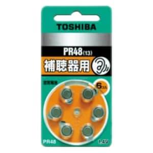 東芝 補聴器用空気電池 公称電圧:1.4V サイズ:径7.9×総高5.4mm 6個入