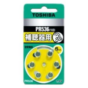 東芝 補聴器用空気電池 公称電圧:1.4V サイズ:径5.8×総高3.6mm 6個入