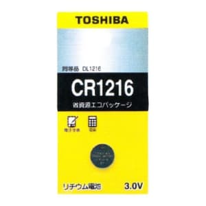 東芝 コイン形リチウム電池 3V 0.1mA 30mAh エコパッケージ 1個入