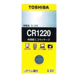 東芝 コイン形リチウム電池 3V 0.1mA 36mAh エコパッケージ 1個入