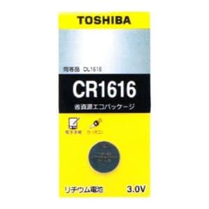 東芝 コイン形リチウム電池 3V 0.1mA 57mAh エコパッケージ 1個入