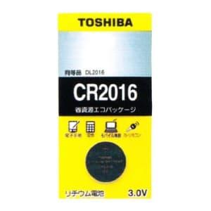 東芝 コイン形リチウム電池 3V 0.1mA 90mAh エコパッケージ 1個入