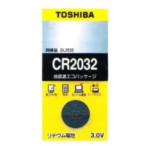 東芝 コイン形リチウム電池 3V 0.2mA 220mAh エコパッケージ 1個入