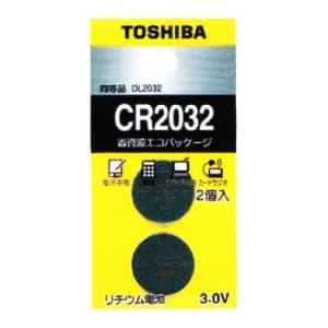 東芝 コイン形リチウム電池 3V 0.2mA 220mAh エコパッケージ 2個入