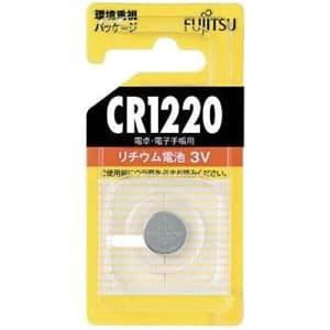 富士通 リチウムコイン電池 3V 1個パック CR1220C(B)N