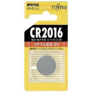 富士通 リチウムコイン電池 3V 1個パック CR2016C(B)N