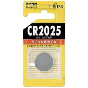 富士通 リチウムコイン電池 3V 1個パック CR2025C(B)N