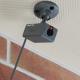 旭電機化成 CCD防犯ダミーカメラ 電池式 赤色LED×1灯 グレー ADC-203GR