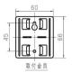 パナソニック 住宅用ガス警報器 ガス当番 都市ガス用 AC100Vコード式・移報接点なし SH12918 画像3